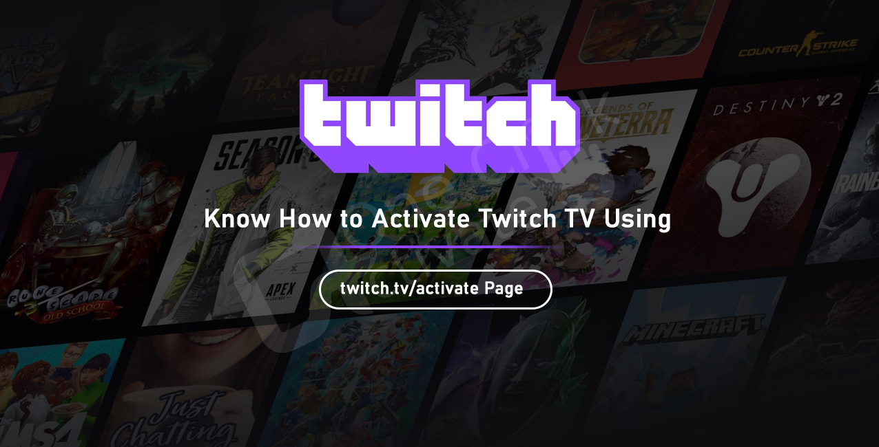 twitch.tv/activate